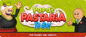 Pastaria To Go! Promotional Poster