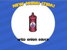 Wild Onion Sauce (Wingeria)
