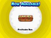 Fruitcake Bun