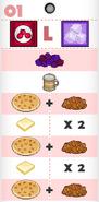 Carlo's Pancakeria order