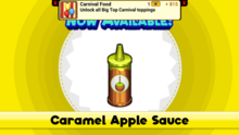 Caramel Apple Sauce