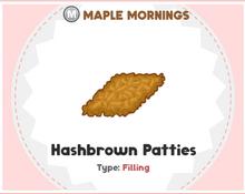 Hash Browns Sushiria