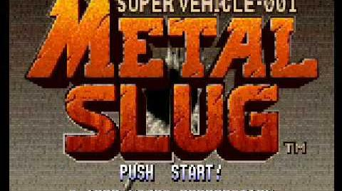 Metal Slug - Hold You Still! Soundtrack