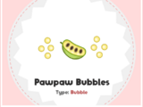 Burbujas de Pawpaw