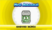 Shaved mints unlocked