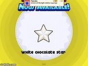 Papa's Cupcakeria - White Chocolate Star