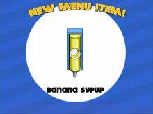 Banana Syrup