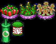 Christmas toppings