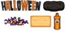 Halloween Ingredients - Cheeseria
