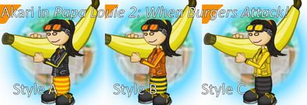 Akari Outfits PapaLouie2