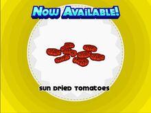 Unlocking sun dried tomatoes