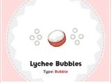 Burbujas de Lichi