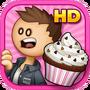 Papa's Cupcakeria HD - Logo