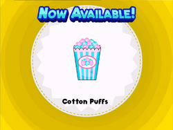 Cotton Puffs New
