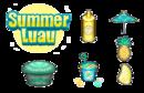 Cupcakeria HD - Summer Luau Toppings