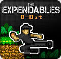 The Expendables 8-bit banner
