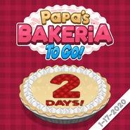 2 days to bakeria