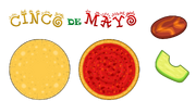 Pizzeria HD - Cinco de Mayo Ingredients