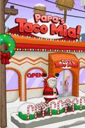 Papa's Taco Mia at winter