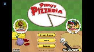Papa's Pizzeria Title Music