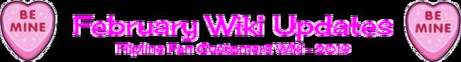 February Wiki Updates