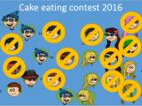 Cake eating contest 2016