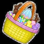 Tilted Easter Basket