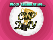 Cup Day Now Celebrating Background