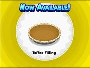 Unlocking toffee filling
