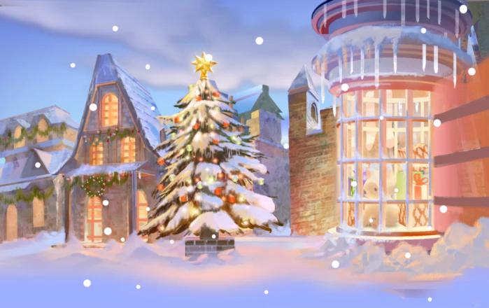 Christmas Backdrop