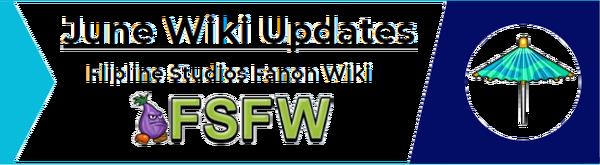 June Wiki Updates - New