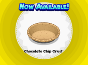 Chocolate Chip Crust