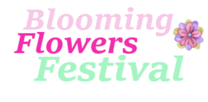 Blooming Flowers Festival Logo2