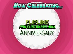 Flipline Fan Customer Wikia Anniversary