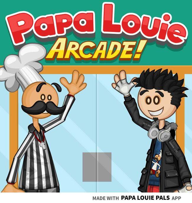 Welcome to Papa Louie Arcade