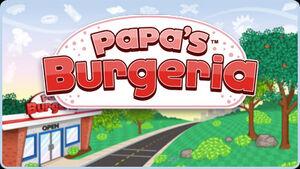 Papa's Burgeria Logo