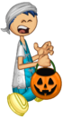 Andy Halloween Running