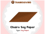 Chairo Soy Paper