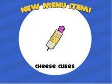 Cheese cubes unlocked
