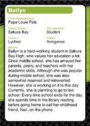 Bailyn Info