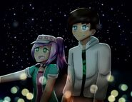 Len and rosalina request by mintexprezz