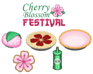 Cherry Blossom Festival Ingredients - Bakeria