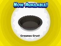 Unlocking creameo crust