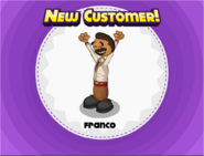 New customer Franco