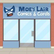 Moe's Lair Exterior