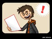 Papa's Donuteria Intro - Tony reads the job application