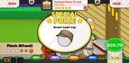 Papa's Scooperia To Go! Oatmeal Raisin Crunch Prize