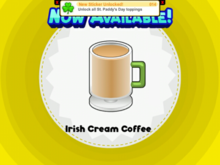 Irish Cream Coffee PHD