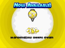 Papa's Donuteria - Marshmallow Cheeps Cream