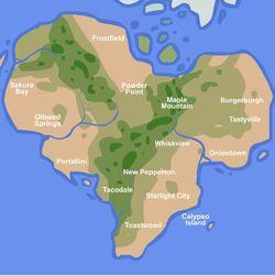 Flipverse Physical Map